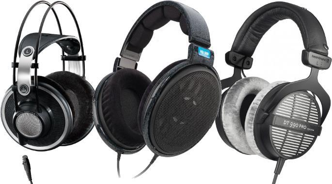 Open back wireless headphones - studio headphones open back