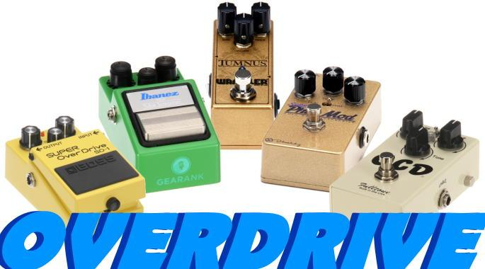The Highest Rated Overdrive Pedals Under $150