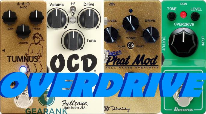 The Highest Rated Overdrive Pedals Up To $150