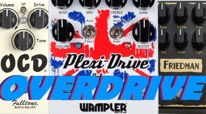 Overdrive Pedals