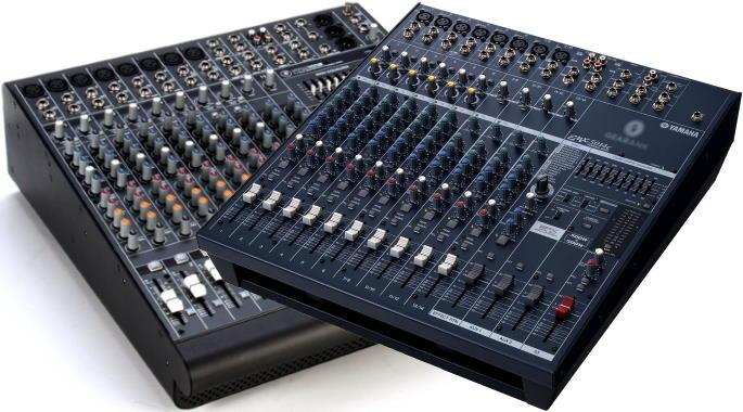 The Highest Rated Powered Mixing Consoles