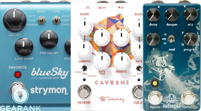 The Highest Rated Reverb & Delay Reverb Combo Pedals