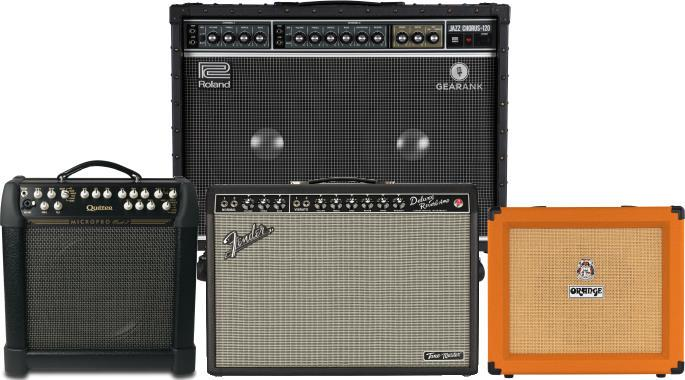 The Highest Rated Solid State Guitar Amps