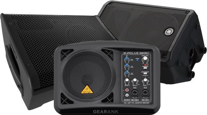 The Highest Rated Powered Stage Monitors