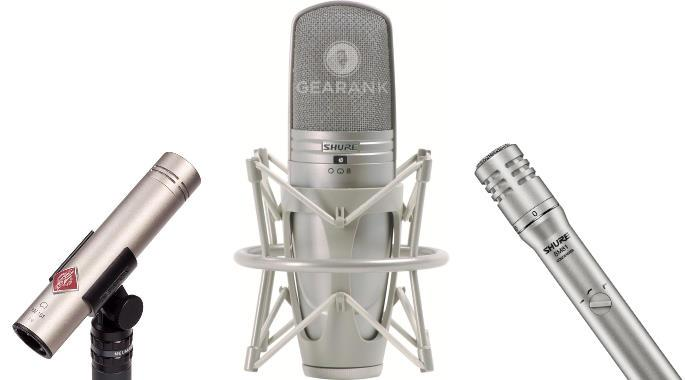 The Highest Rated Studio Condenser Microphones