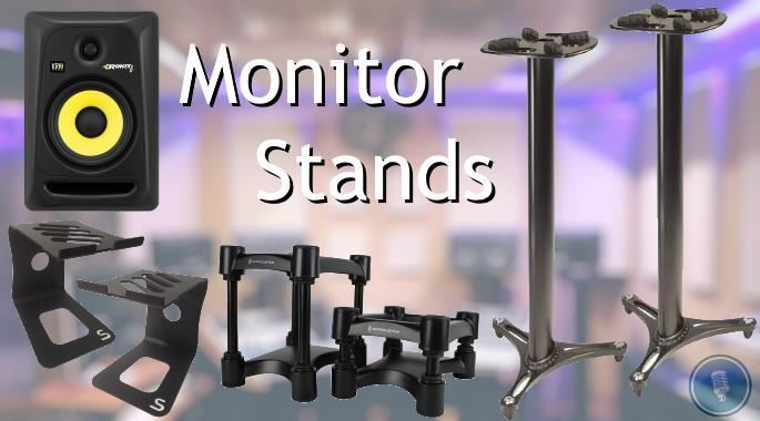 The Best Studio Monitor Stands - Desk & Floor