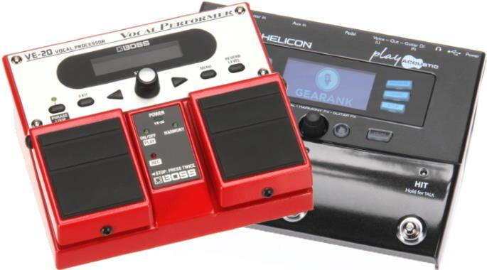 The Highest Rated Vocal Effects Pedals