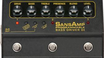 Tech 21 SansAmp Programmable Bass Driver