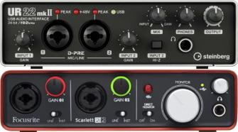 2 Channel Audio Interfaces