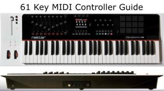 Guide to 61 Key MIDI controller keyboards