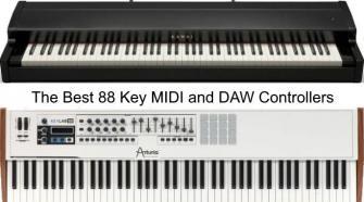 88 Key MIDI & DAW Controller Keyboards