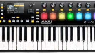 Akai Professional Advance - 49 Key MIDI Controller Keyboard