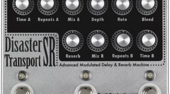Earthquaker Devices Disaster Transport SR Advanced Modulated Delay & Reverb Pedal