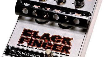 Electro-Harmonix Black Finger Tube Compressor Pedal
