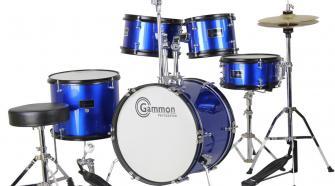 Gammon Percussion Y1049 5-Piece Junior Acoustic Drum Set