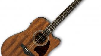 Ibanez AW54CEOPN 6 String Acoustic-Electric Guitar