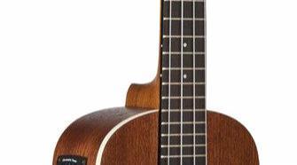 Kala KA-CE Satin Mahogany Concert Acoustic-Electric Ukulele with EQ