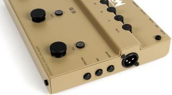 Lehle RMI Acouswitch IQ Acoustic Preamp DI Pedal