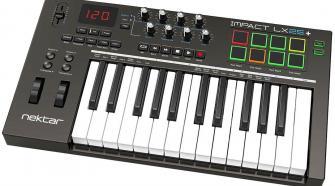 Nektar Impact LX25+ 25-key USB-MIDI Keyboard Controller