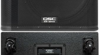 "QSC KW181 1000W 18"" Powered Sub Woofer"