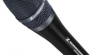 Sennheiser e965 Large Diaphragm Handheld Condenser Microphone