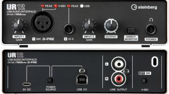 Steinberg UR12 2-Channel USB Audio Interface