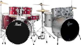 Beginner drum sets - Pearl & Gretsch
