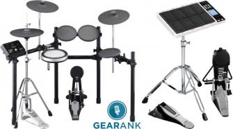 The Highest Rated Electronic Drum Sets Under $1000