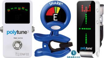 The Highest Rated Guitar Tuners
