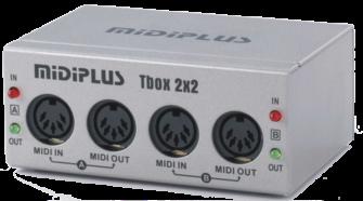 midiplus Tbox 2X2 USB MIDI Interfaces