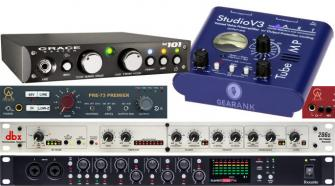 The Highest Rated Microphone Preamps