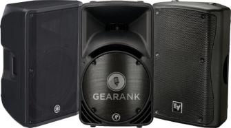 The Highest Rated Passive PA Speakers