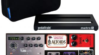 "Pedaltrain Metro 16 Pedalboard with Soft Case (16"" x 8"")"