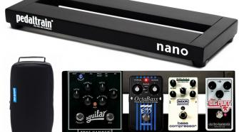 """Pedaltrain Nano Pedalboard with Softcase (14"""" x 5.5"""")"""