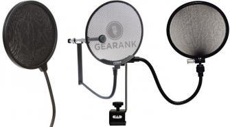 The Highest Rated Microphone Pop Filters