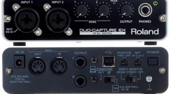 Roland DUO-Capture EX UA-22 USB Audio Interface