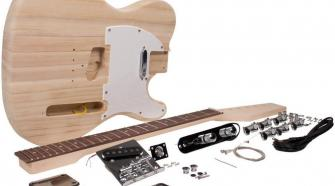 Seismic Audio SADIYG-02 Tele Style DIY Electric Guitar Kit