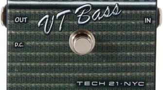 Tech 21 SansAmp Character Series VT Bass V2 Preamp Pedal