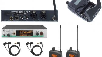 Sennheiser EW 300 G3 Wireless In-Ear Monitor System