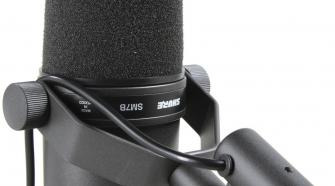 The Shure SM7B Studio Dynamic Vocal Microphone