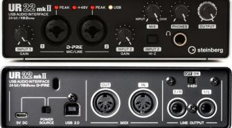 Steinberg UR22 MK2 USB Audio Interface for iPad, Mac and PC