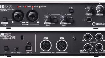 Steinberg UR242 4-Channel USB Audio Interface