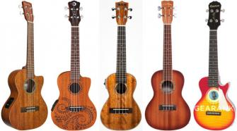 The Highest Rated Acoustic-Electric Ukuleles up to $300