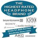 The Highest Rated Headphone Brands