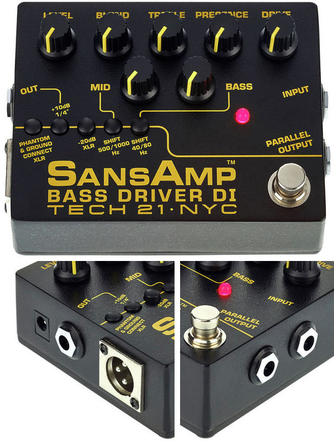 Tech 21 SansAmp Bass Driver V2