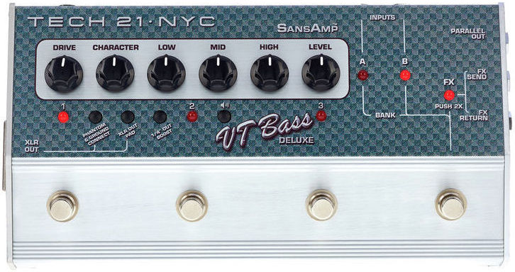 Tech 21 SansAmp Character VT Bass Deluxe