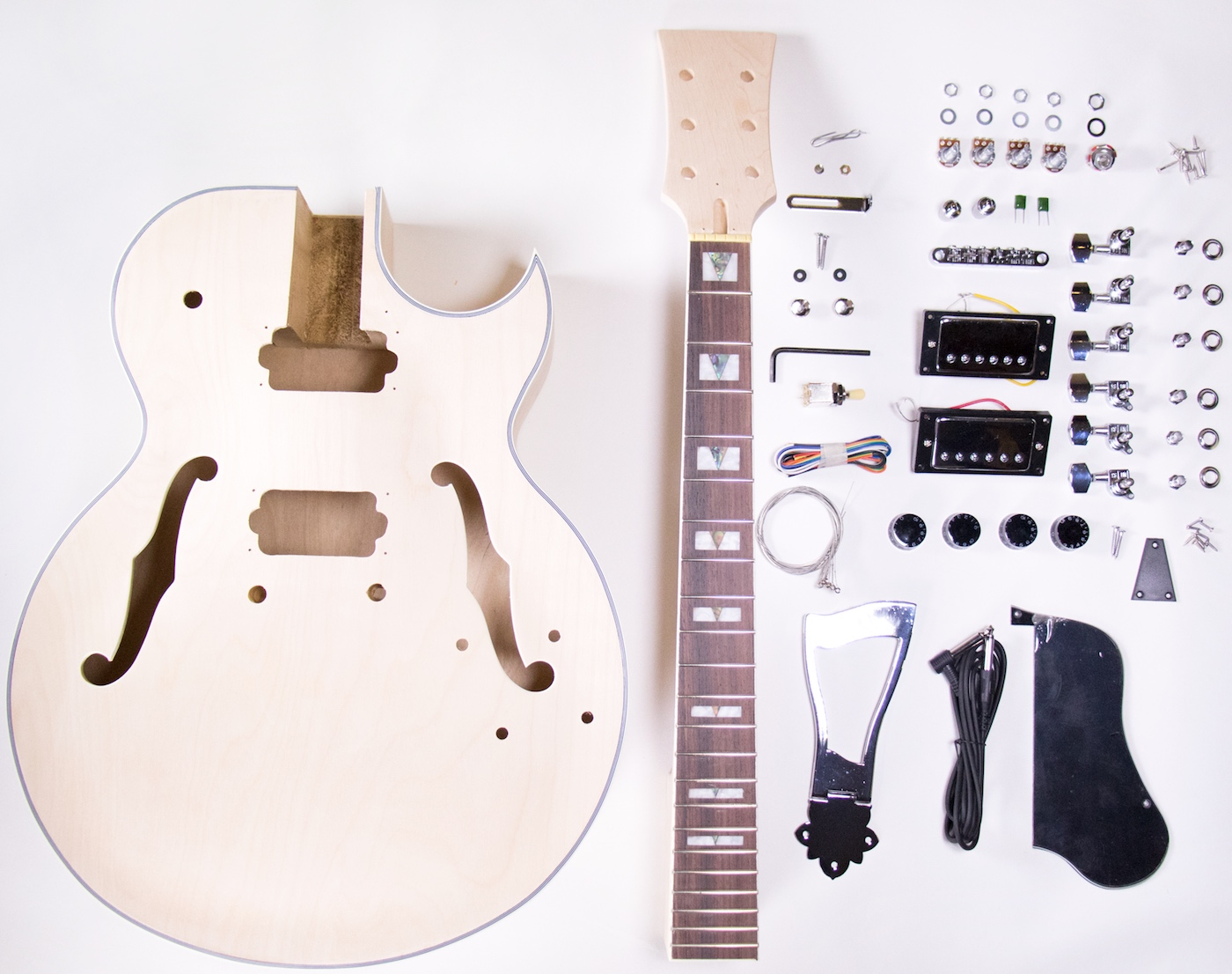 The Best Diy Guitar Kits Electric All Under 250 2018 Gearank On Soldering Loaded Pickguard Fender Stratocaster Forum Thefretwire Kit 175 Jazz Style
