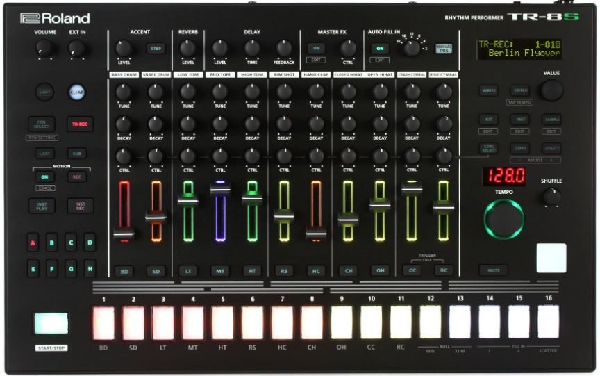 the best drum machines electronic hardware 2019 gearank. Black Bedroom Furniture Sets. Home Design Ideas