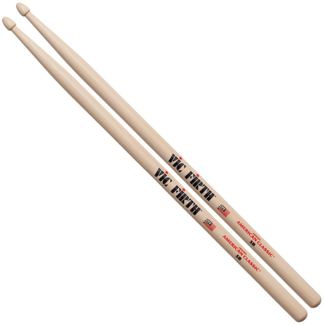Vic Firth American Classic 5B Wood Drum Sticks